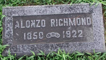 RICHMOND, ALONZO ELIJAH (LON) - Marshall County, Iowa | ALONZO ELIJAH (LON) RICHMOND