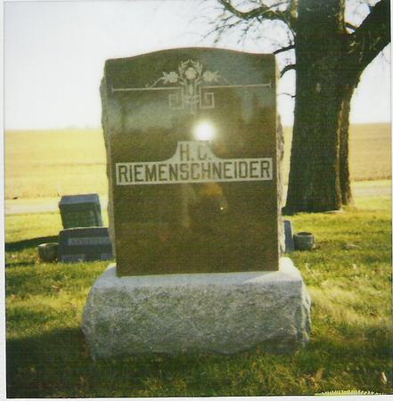 RIEMENSCHNEIDER, HENRY C. - Marshall County, Iowa | HENRY C. RIEMENSCHNEIDER