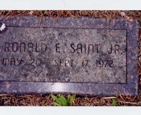 SAINT, RONALD E - Marshall County, Iowa | RONALD E SAINT