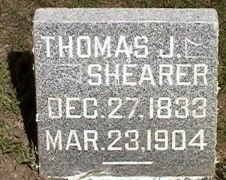 SHEARER, THOMAS J. - Marshall County, Iowa | THOMAS J. SHEARER
