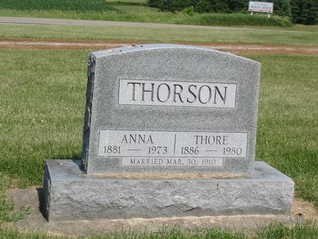 THORSON, ANNA - Marshall County, Iowa | ANNA THORSON