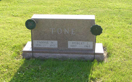 TONE, FANNIE M. - Marshall County, Iowa | FANNIE M. TONE