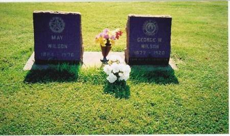 WILSON, MAY & GEORGE W. - Marshall County, Iowa | MAY & GEORGE W. WILSON