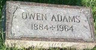 ADAMS, OWEN - Mills County, Iowa | OWEN ADAMS