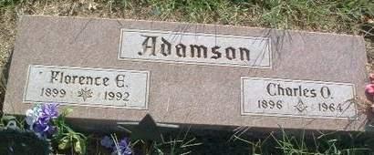 ADAMSON, FLORENCE E. - Mills County, Iowa | FLORENCE E. ADAMSON