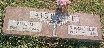AISTROPE, THOMAS M. III - Mills County, Iowa | THOMAS M. III AISTROPE