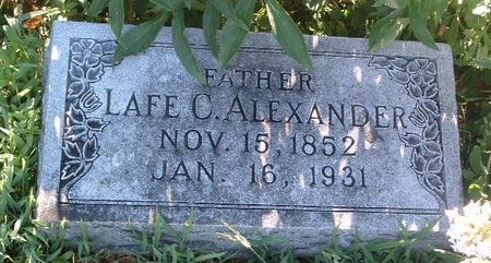 ALEXANDER, LAFE C. - Mills County, Iowa | LAFE C. ALEXANDER