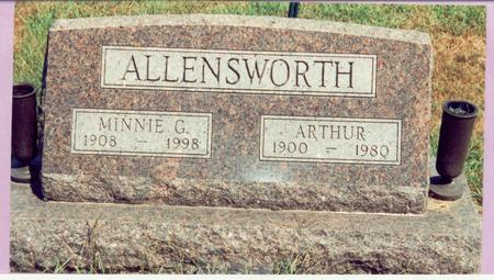 ALLENSWORTH, MINNIE - Mills County, Iowa | MINNIE ALLENSWORTH