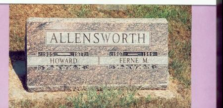 ALLENSWORTH, HOWARD - Mills County, Iowa | HOWARD ALLENSWORTH