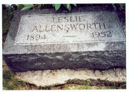 ALLENSWORTH, LESLIE - Mills County, Iowa | LESLIE ALLENSWORTH