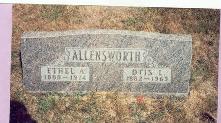 ALLENSWORTH, ETHEL ALENA - Mills County, Iowa | ETHEL ALENA ALLENSWORTH