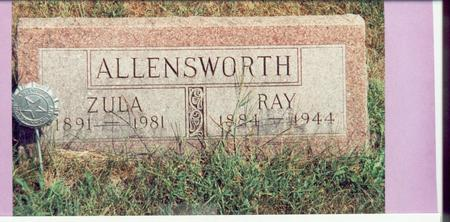 MILLS ALLENSWORTH, ZULA - Mills County, Iowa | ZULA MILLS ALLENSWORTH