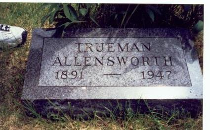 ALLENSWORTH, TRUEMAN - Mills County, Iowa | TRUEMAN ALLENSWORTH