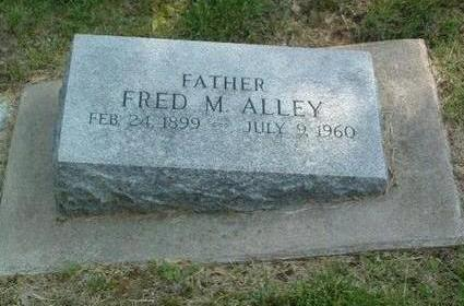 ALLEY, FRED M. - Mills County, Iowa | FRED M. ALLEY