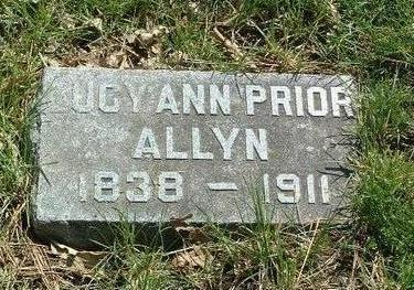 PRIOR ALLYN, LUCY ANN - Mills County, Iowa | LUCY ANN PRIOR ALLYN