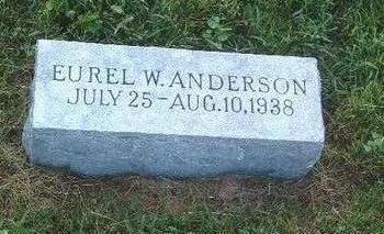 ANDERSON, EUREL W. - Mills County, Iowa | EUREL W. ANDERSON