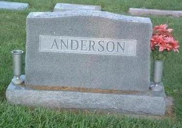 ANDERSON, FAMILY HEADSTONE - Mills County, Iowa | FAMILY HEADSTONE ANDERSON