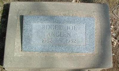 ANGLEN, ROGER JOE - Mills County, Iowa | ROGER JOE ANGLEN