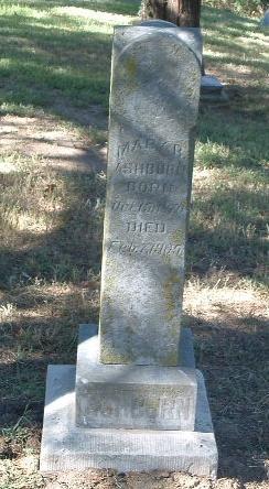 ASHBURN, MARY B. - Mills County, Iowa | MARY B. ASHBURN