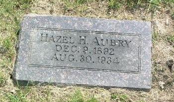 AUBRY, HAZEL M. - Mills County, Iowa | HAZEL M. AUBRY