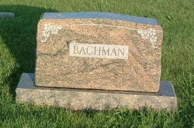BACHMAN, FAMILY HEADSTONE - Mills County, Iowa | FAMILY HEADSTONE BACHMAN