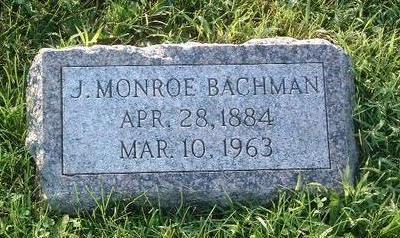 BACHMAN, J. MONROE - Mills County, Iowa | J. MONROE BACHMAN