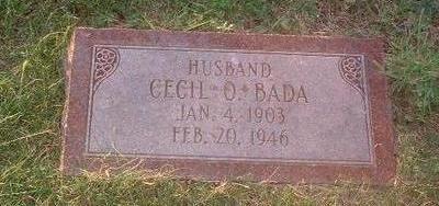 BADA, CECIL O. - Mills County, Iowa | CECIL O. BADA