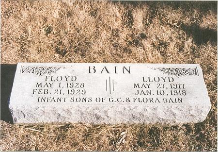BAIN, FLOYD EVERETT - Mills County, Iowa | FLOYD EVERETT BAIN