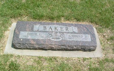 BAKER, EDITH L. - Mills County, Iowa | EDITH L. BAKER