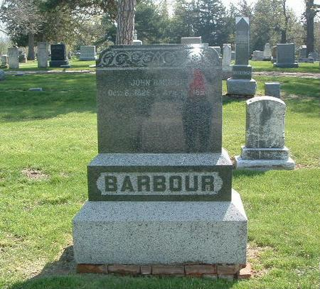 BARBOUR, JOHN - Mills County, Iowa | JOHN BARBOUR