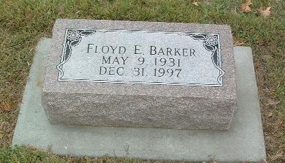 BARKER, FLOYD E. - Mills County, Iowa | FLOYD E. BARKER