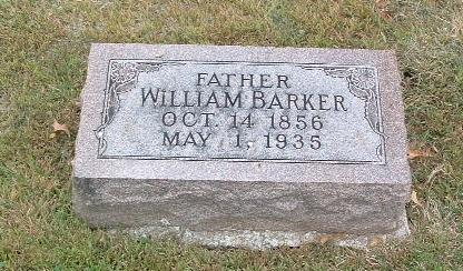 BARKER, WILLIAM - Mills County, Iowa | WILLIAM BARKER