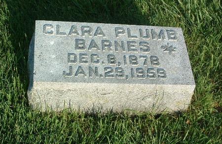 PLUMB BARNES, CLARA - Mills County, Iowa | CLARA PLUMB BARNES