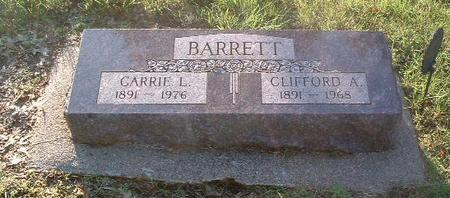 BARRETT, CLIFFORD A. - Mills County, Iowa | CLIFFORD A. BARRETT