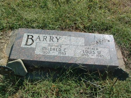 BARRY, MILDRED C. - Mills County, Iowa | MILDRED C. BARRY