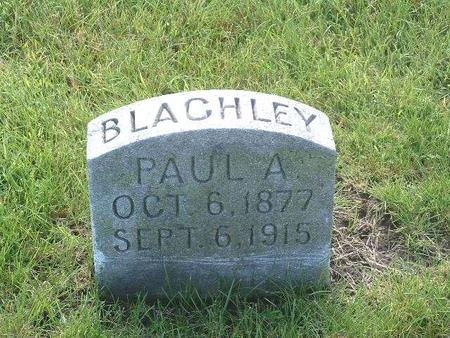 BLACHLEY, PAUL A. - Mills County, Iowa | PAUL A. BLACHLEY