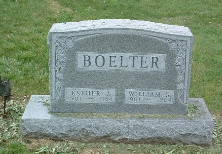 BOELTER, ESTHER J. - Mills County, Iowa | ESTHER J. BOELTER
