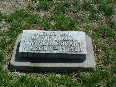 BOGART, INFANT SON - Mills County, Iowa | INFANT SON BOGART
