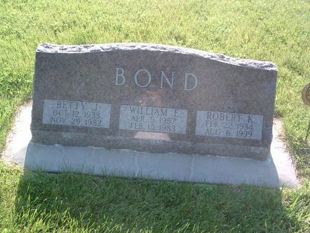 BOND, ROBERT K. - Mills County, Iowa | ROBERT K. BOND