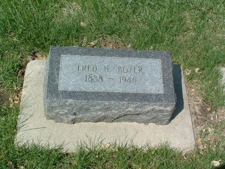 BOYER, FRED H. - Mills County, Iowa | FRED H. BOYER