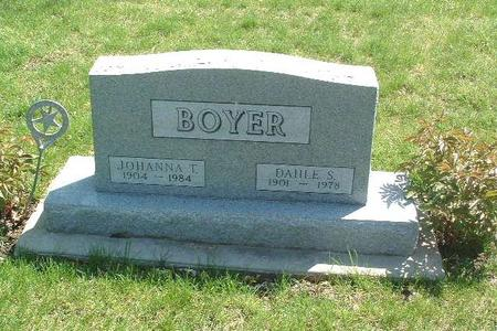 BOYER, JOHANNA T. - Mills County, Iowa | JOHANNA T. BOYER