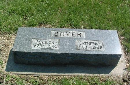 BOYER, KATHERINE - Mills County, Iowa | KATHERINE BOYER