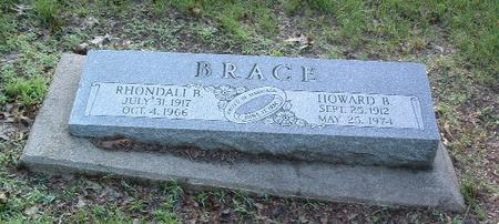 BRACE, HOWARD B. - Mills County, Iowa | HOWARD B. BRACE