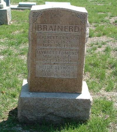 BRAINERD, LEVERETT EDMUND - Mills County, Iowa | LEVERETT EDMUND BRAINERD