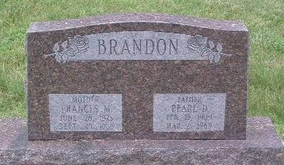 BRANDON, FRANCIS M. - Mills County, Iowa | FRANCIS M. BRANDON