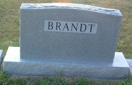 BRANDT, FAMILY HEADSTONE - Mills County, Iowa | FAMILY HEADSTONE BRANDT