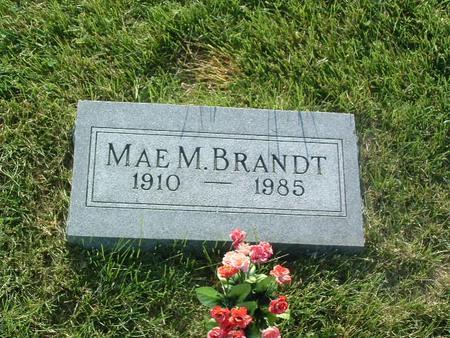 BRANDT, MAE M. - Mills County, Iowa | MAE M. BRANDT