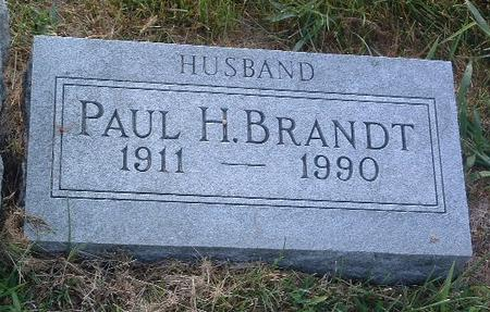 BRANDT, PAUL H. - Mills County, Iowa | PAUL H. BRANDT
