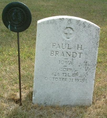 BRANDT, PAUL H. - Mills County, Iowa | PAUL H. BRANDT
