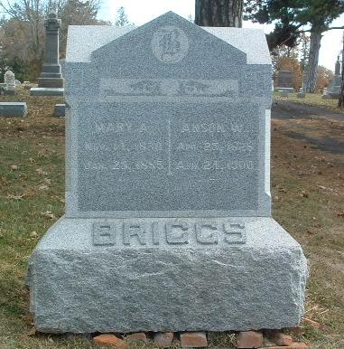 BRIGGS, MARY A. - Mills County, Iowa | MARY A. BRIGGS